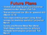 future plans21