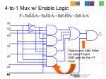 4 to 1 mux w enable logic14