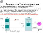 postmortem event suppression