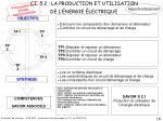 c i 5 2 la production et utilisation de l nergie lectrique
