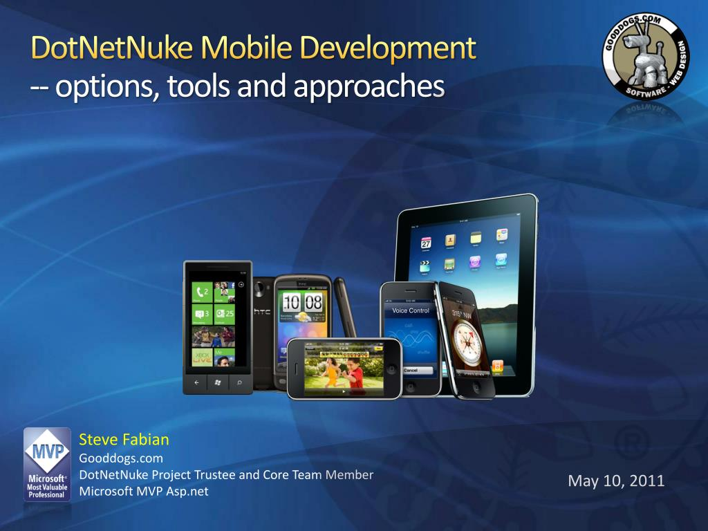 dotnetnuke mobile development options tools and approaches l.