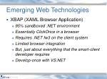 emerging web technologies5