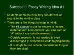 successful essay writing idea 14