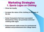 marketing strategies 1 sports logos on clothing