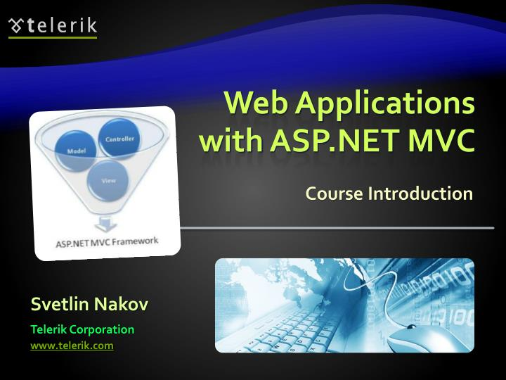 web applications with asp net mvc n.