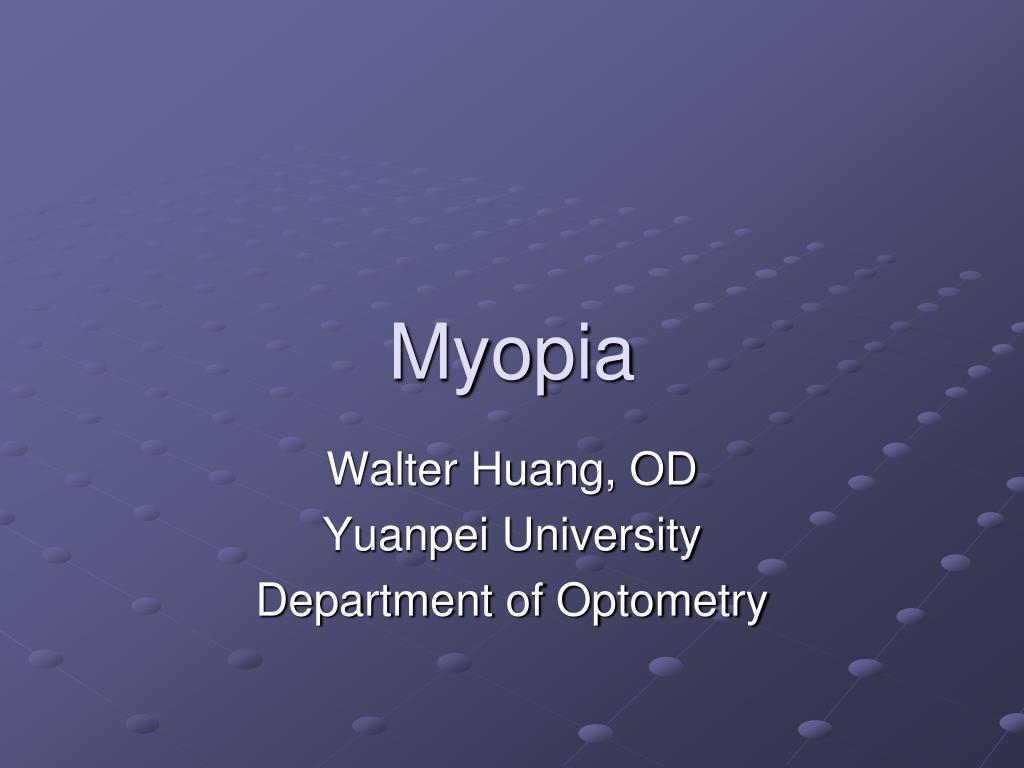 myopia l.
