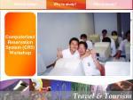computerized reservation system crs workshop