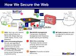 how we secure the web23