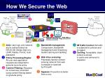 how we secure the web25