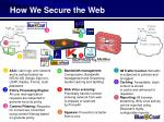 how we secure the web27