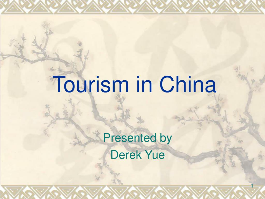 tourism in china l.