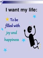 i want my life