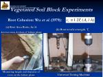 vegetated soil block experiments2
