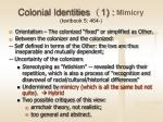 colonial identities 1 mimicry textbook 5 464