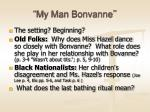 my man bonvanne