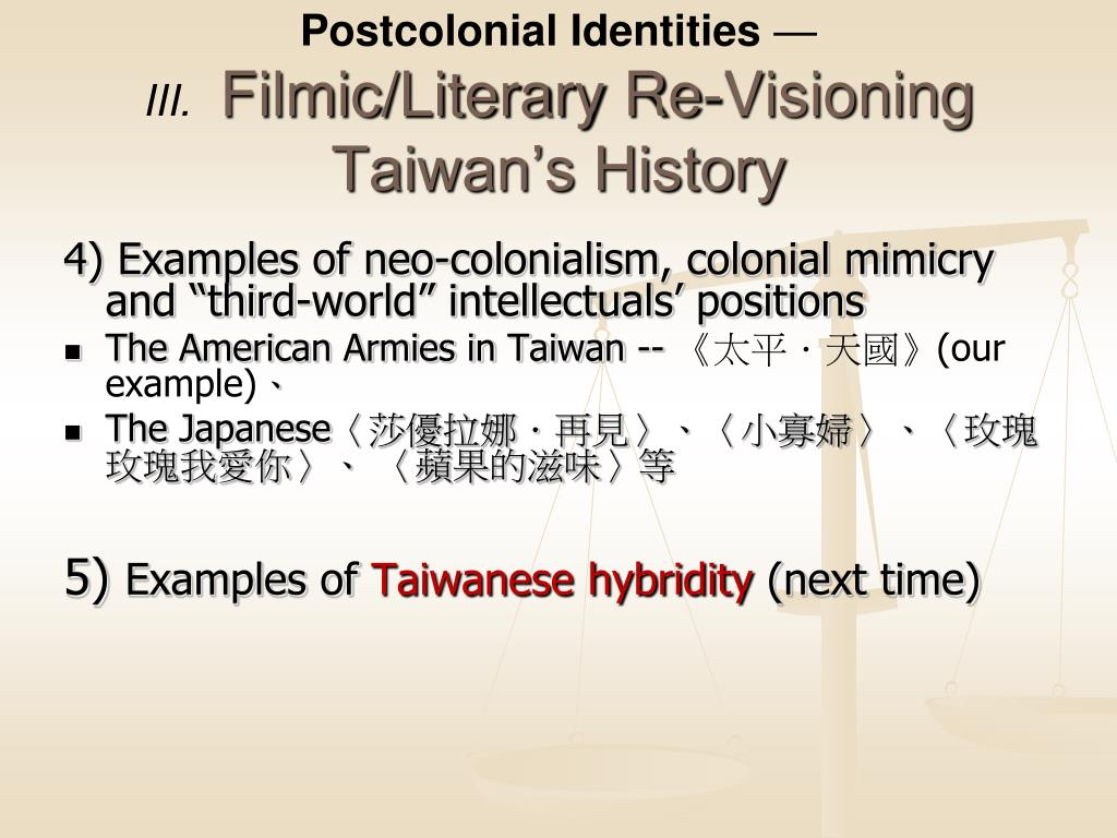 PPT - Post-Colonialisms (II) PowerPoint Presentation - ID:713201