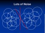 lots of noise