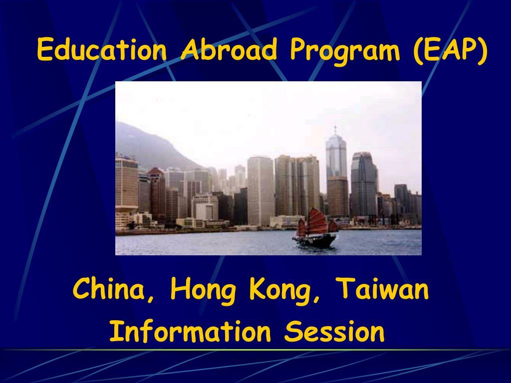 education abroad program eap l.