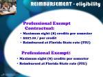 reimbursement eligibility10