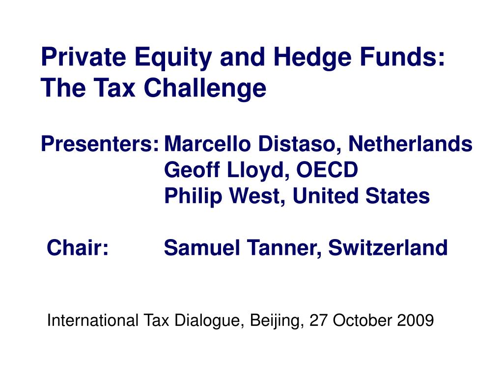 international tax dialogue beijing 27 october 2009 l.