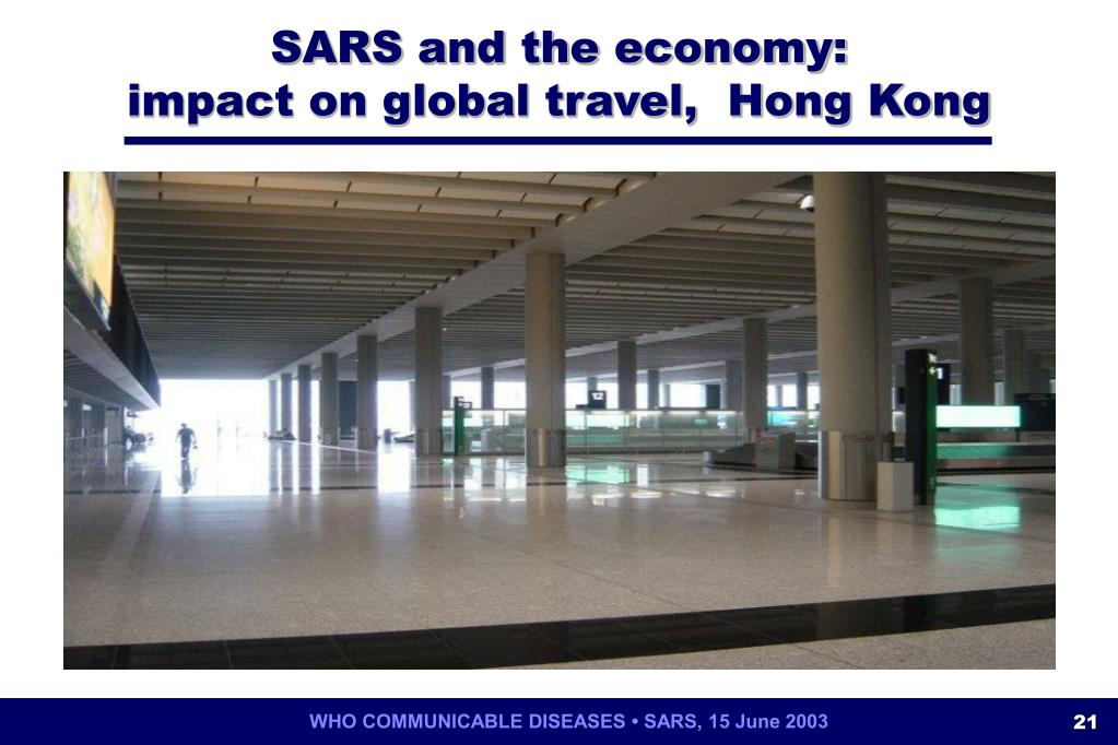 SARS and the economy: