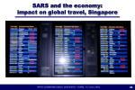 sars and the economy impact on global travel singapore