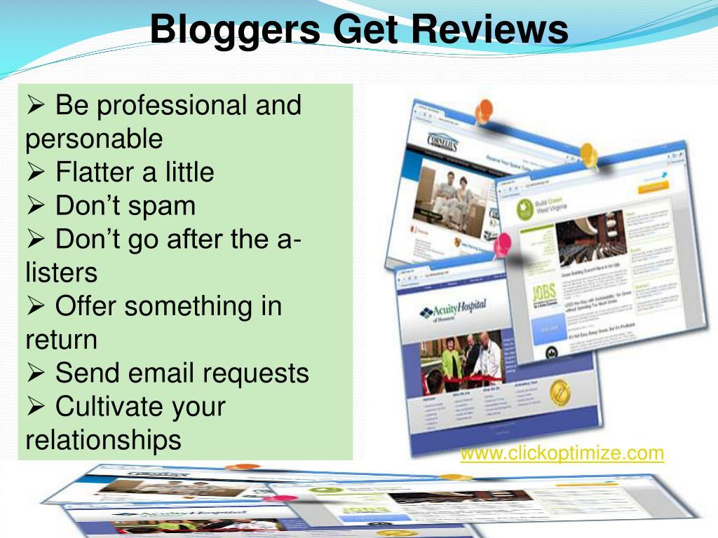 Bloggers Get Reviews