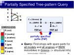 partially specified tree pattern query12
