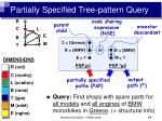 partially specified tree pattern query15