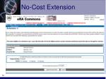 no cost extension70