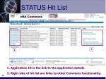 status hit list