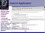 submit application27
