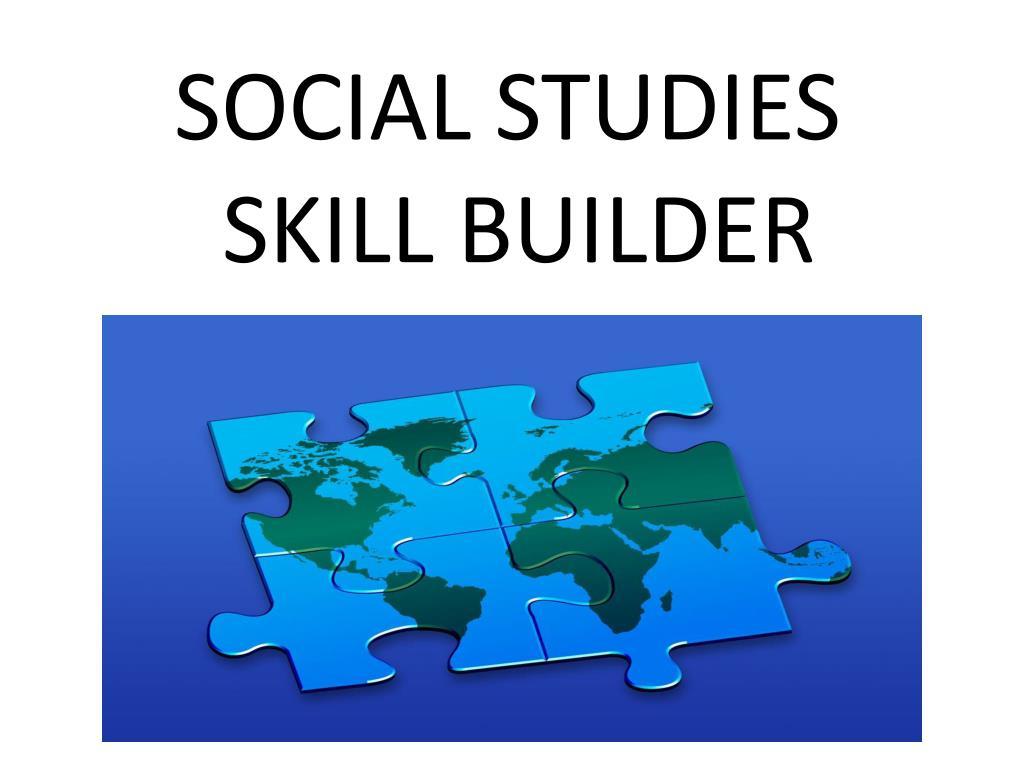 social studies skill builder l.