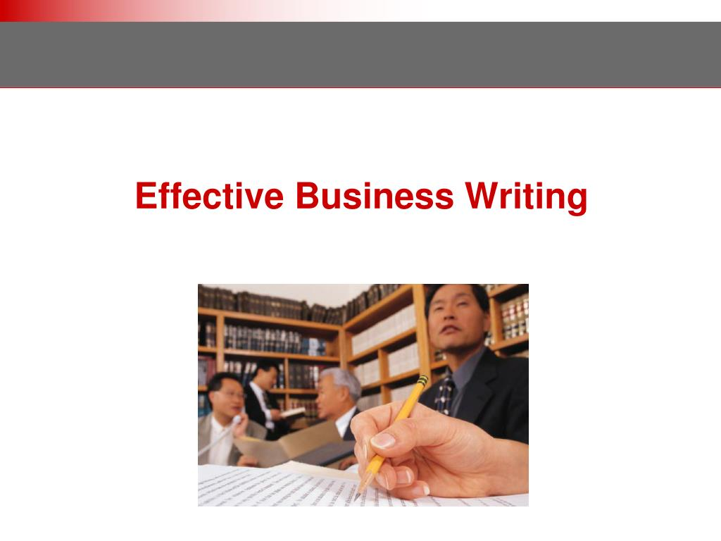 effective business writing l.