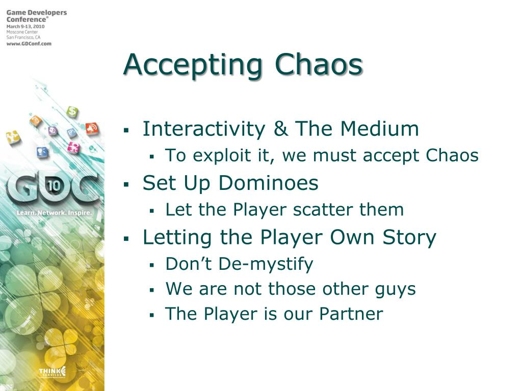 Accepting Chaos