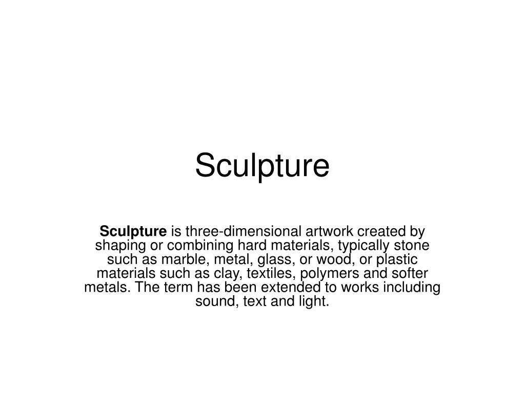 sculpture l.