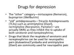drugs for depression80