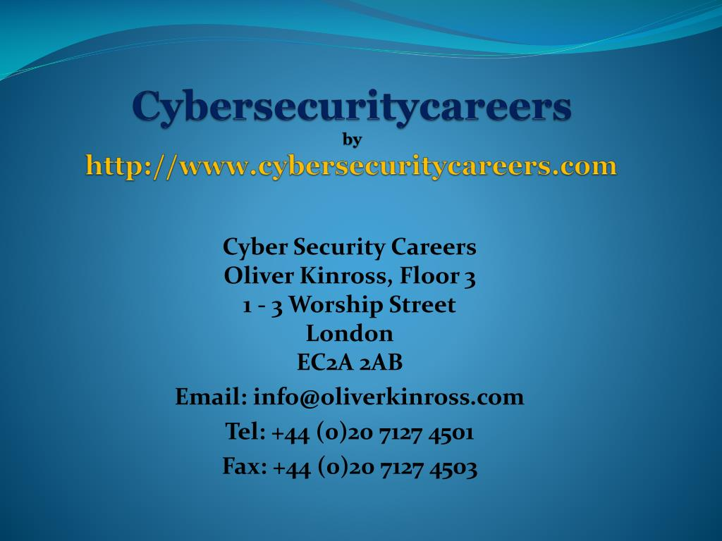 cybersecuritycareers by http www cybersecuritycareers com l.