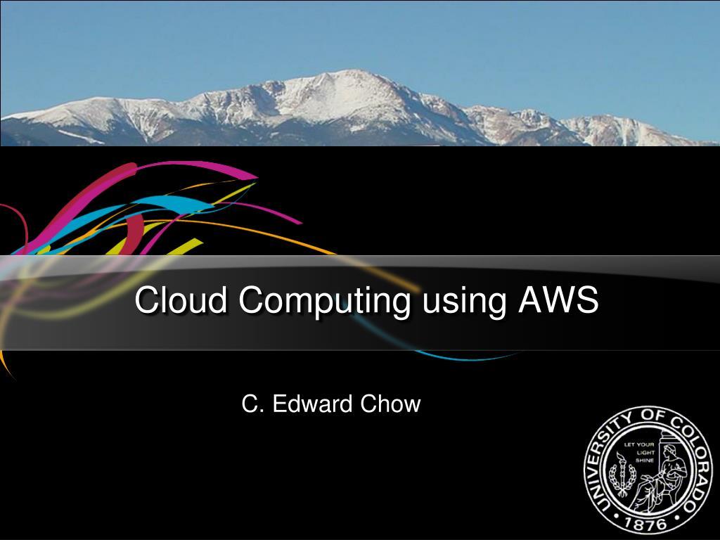 cloud computing using aws l.