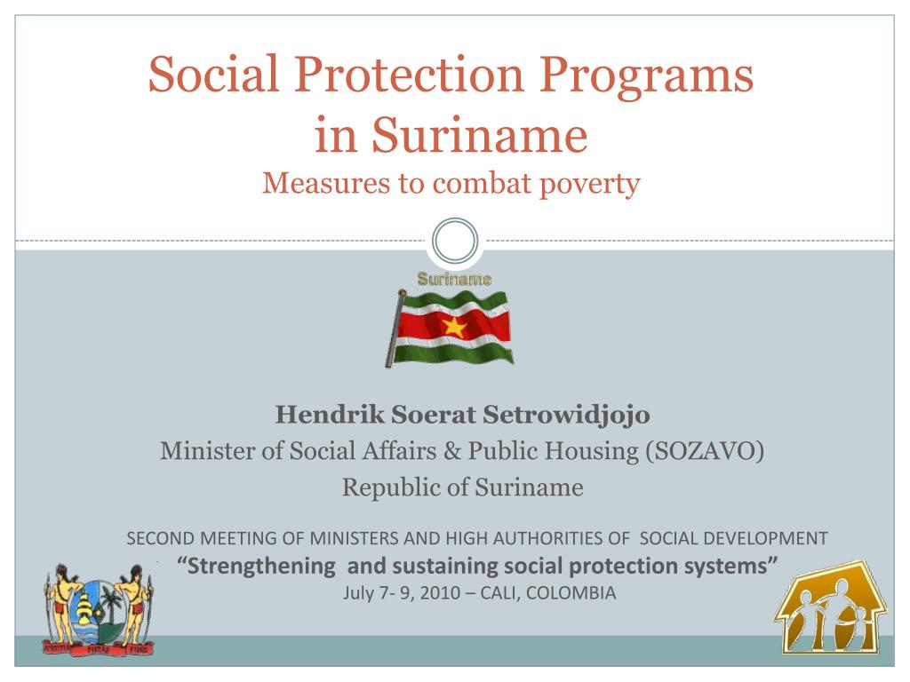 social protection programs in suriname measures to combat poverty l.
