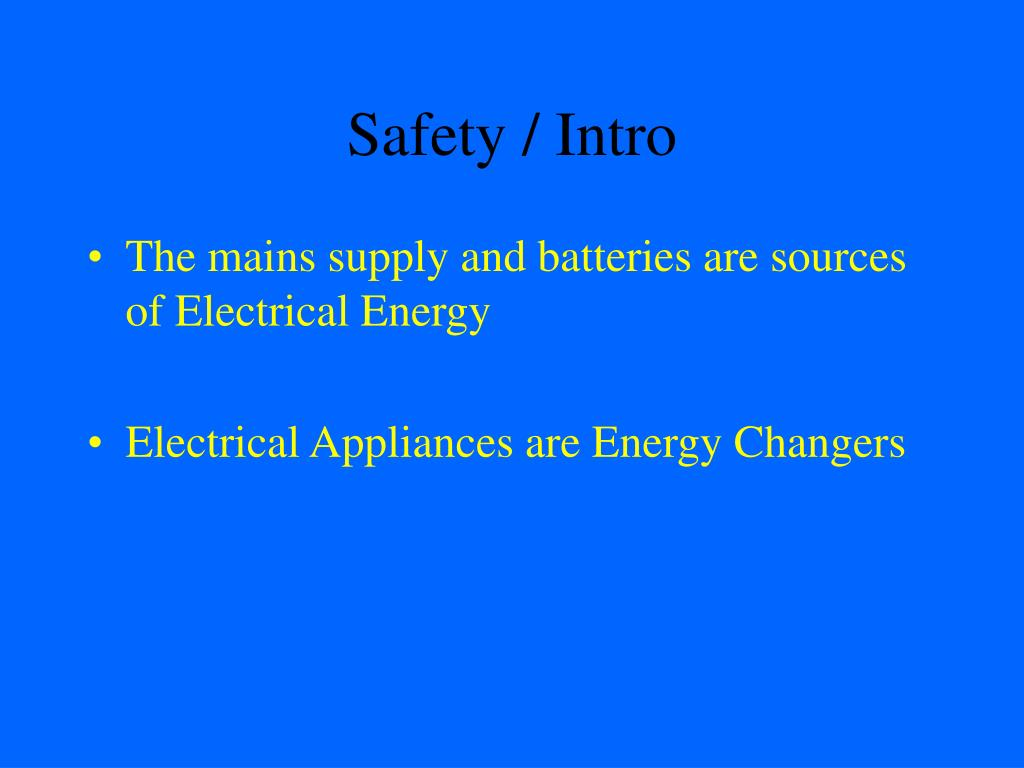 safety intro l.