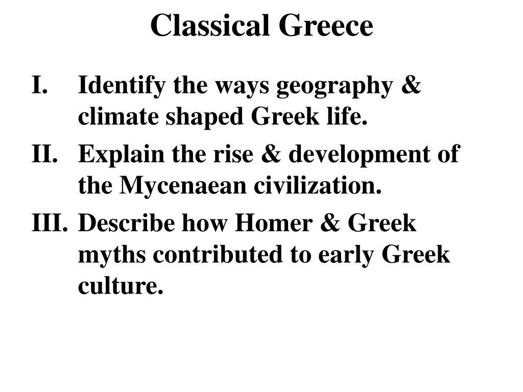 classical greece l.