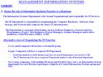 management information systems12