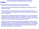 management information systems14