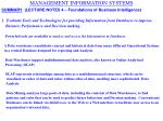 management information systems19
