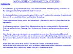 management information systems20