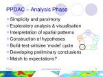 ppdac analysis phase