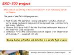 exo 200 project