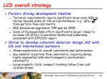lcd overall strategy