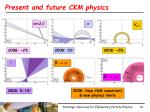 present and future ckm physics